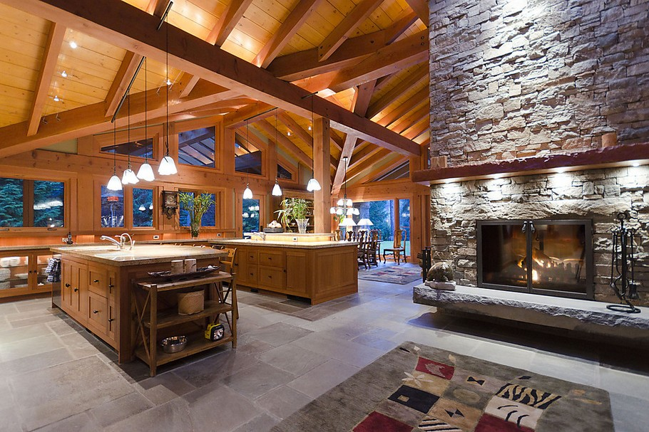 15 million luxury house in whistler for Log cabin furniture canada