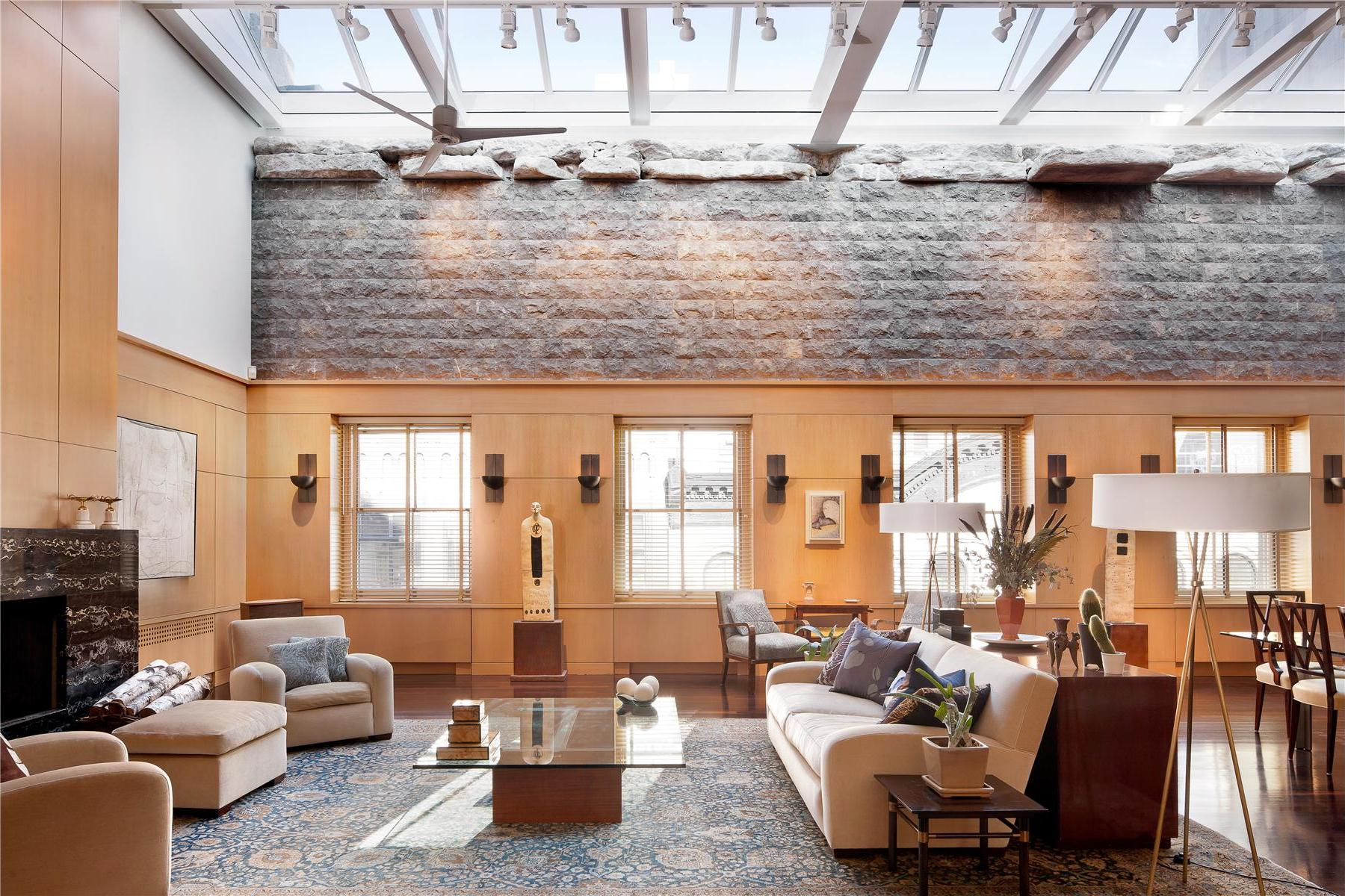 Superb luxury penthouse in tribeca new york for Penthouses for sale in manhattan