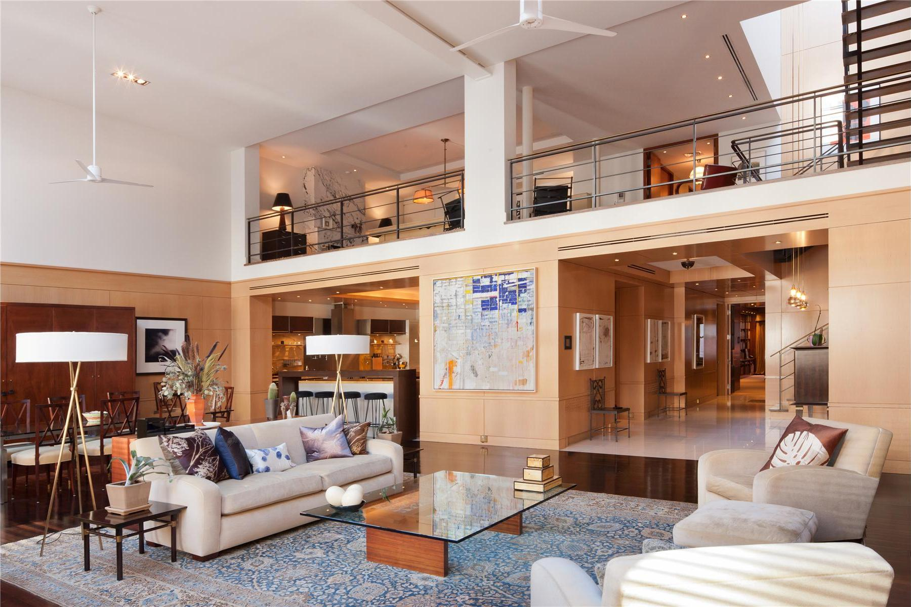 Superb luxury penthouse in tribeca new york 2 for Apartments in tribeca nyc