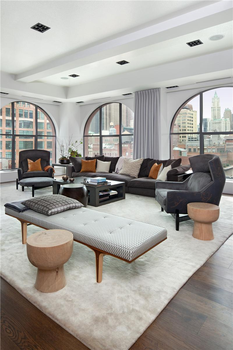 Two luxurious lofts on sale in tribeca new york 13 for Nyc loft for sale