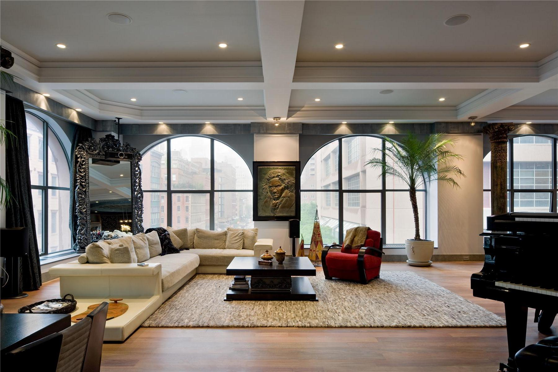 Two luxurious lofts on sale in tribeca new york for Apartments in tribeca nyc