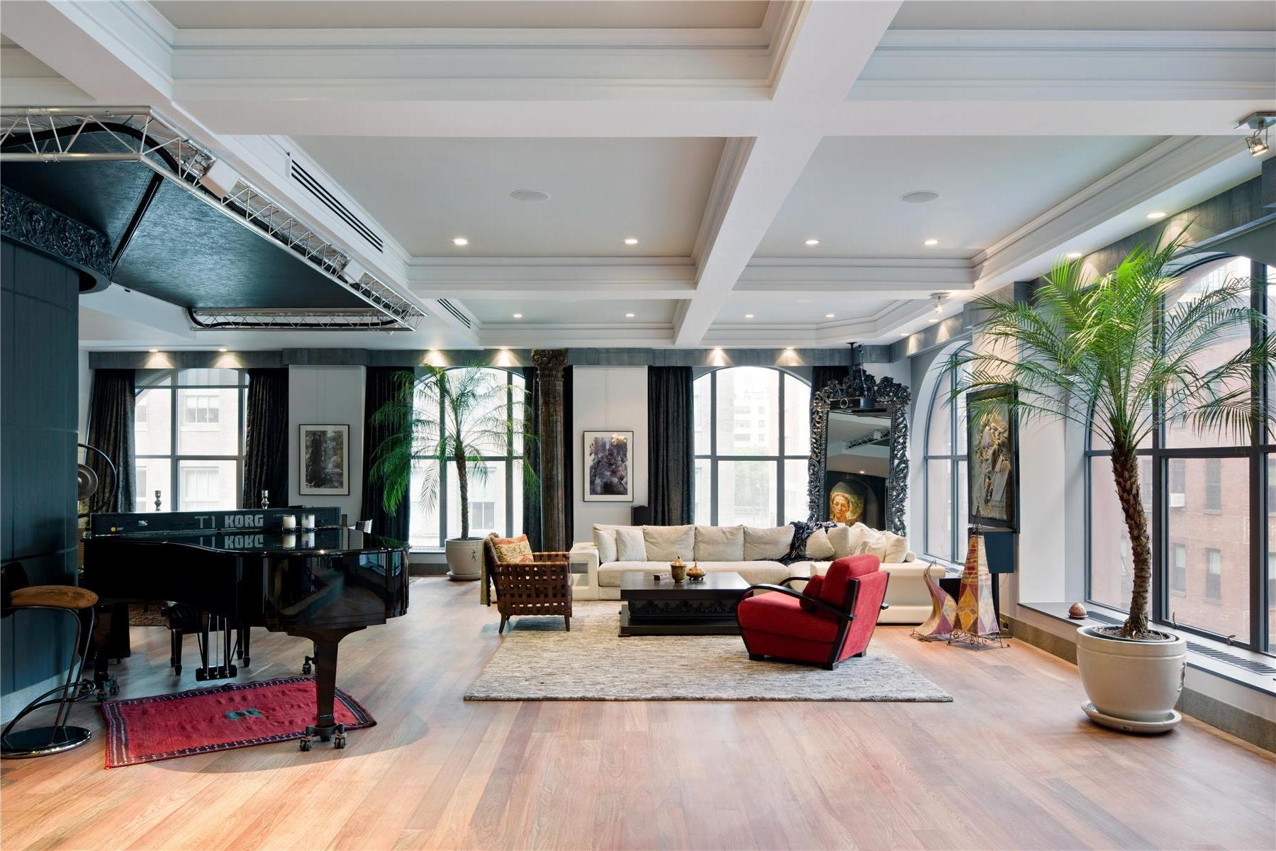 two luxurious lofts on sale in tribeca new york 3