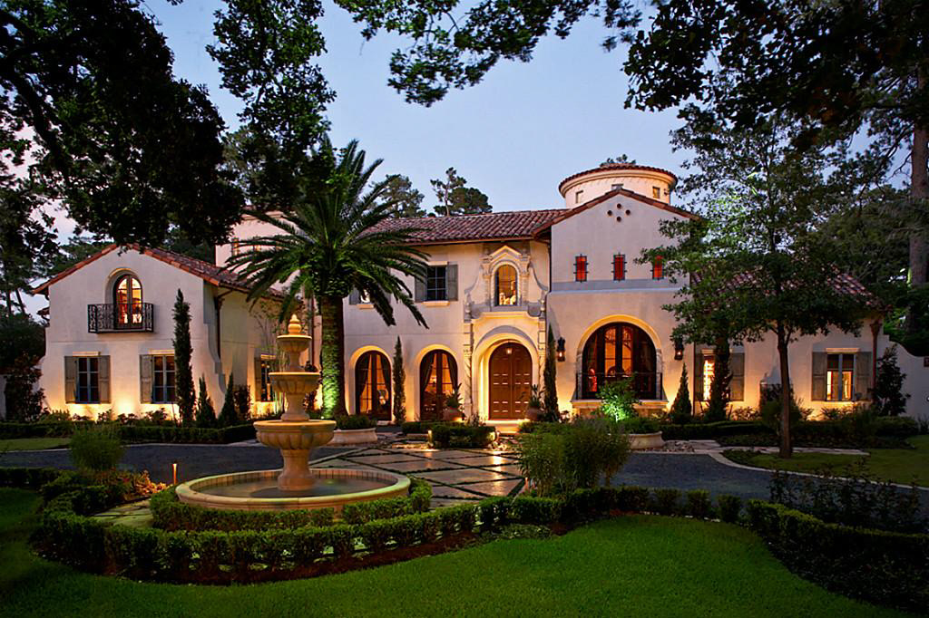Opulent mediterranean style mansion in texas 2 Mediterranean home decor for sale