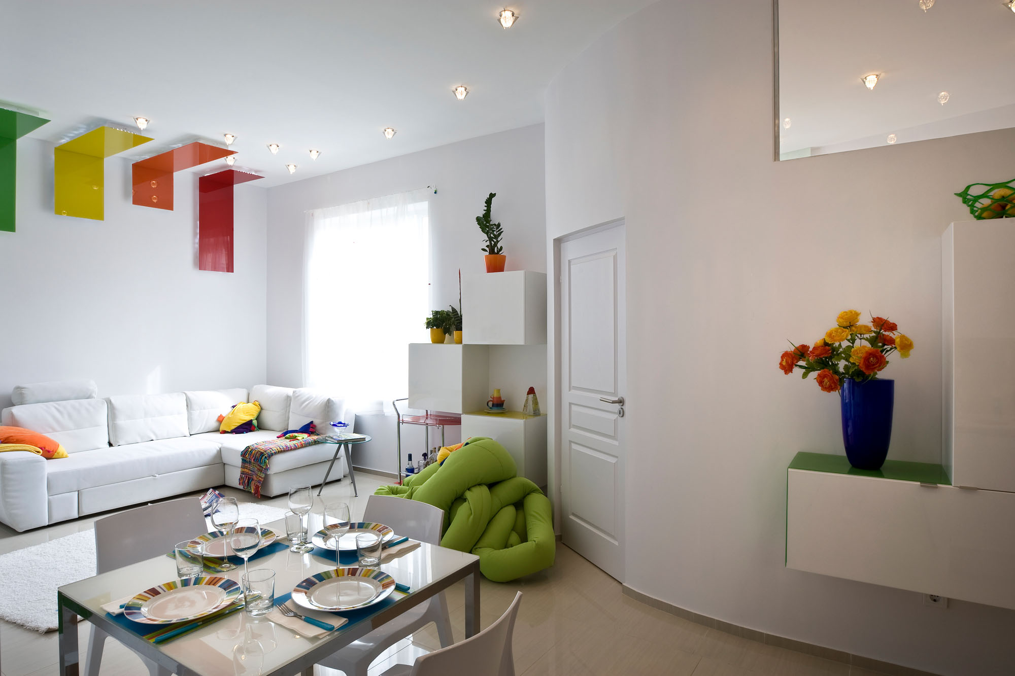colorful apartment in budapest 2