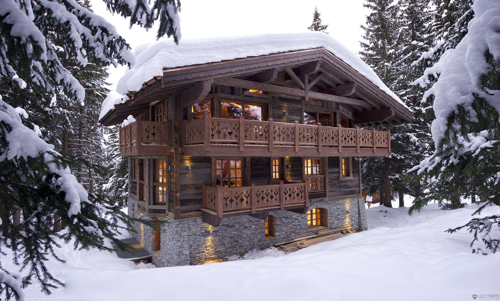 Cozy chalet les gentianes 1850 in the french alps - Chalet architectuur ...