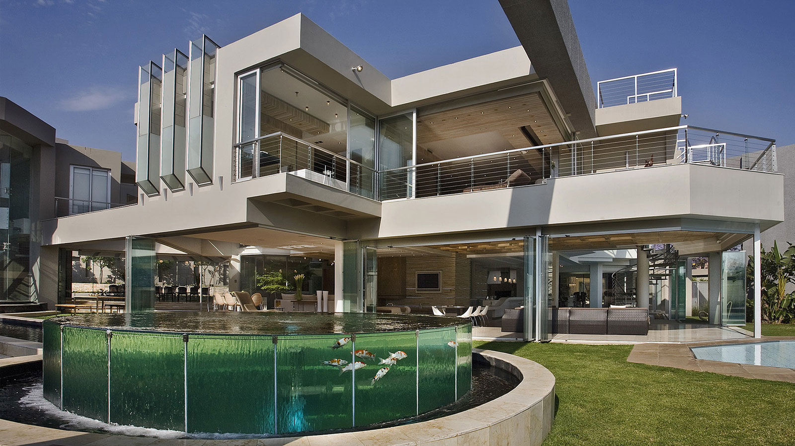 Outofadream glass house by nico van der meulen architects