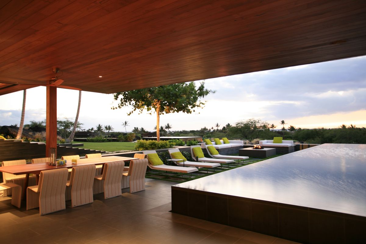 wonderful kona residence in hawaii by belzberg architects