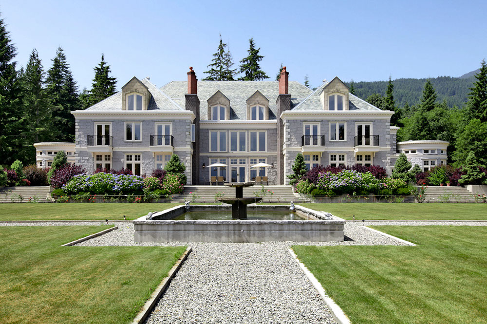 a luxurious english manor estate in british columbia canada