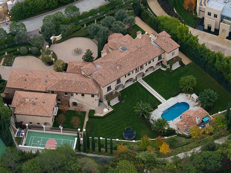 Grandiose beverly park estate in beverly hills for Beverly hill mansions for sale