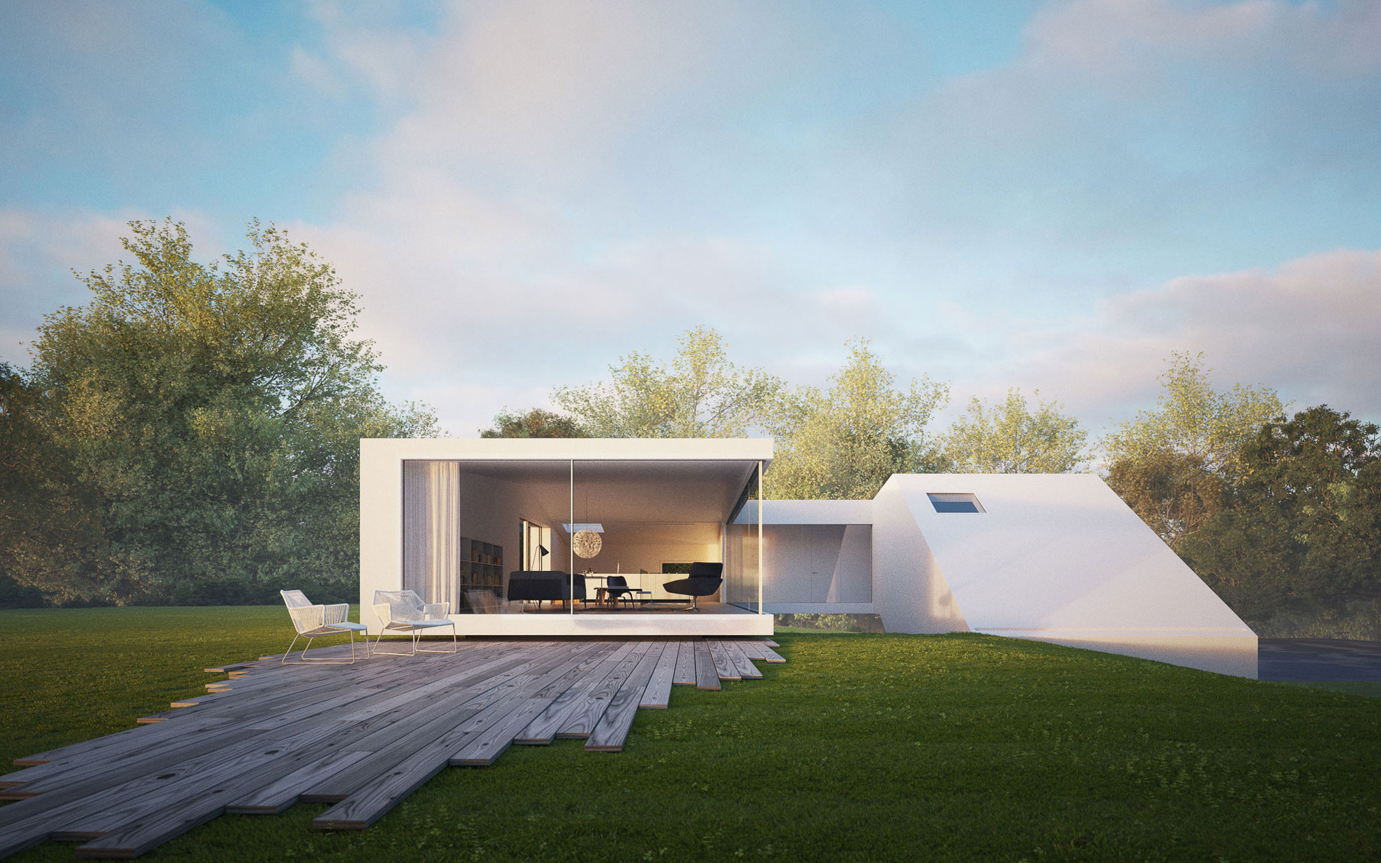 Cubic house hafner by hornung and jacobi architecture 5 for My minimalist home