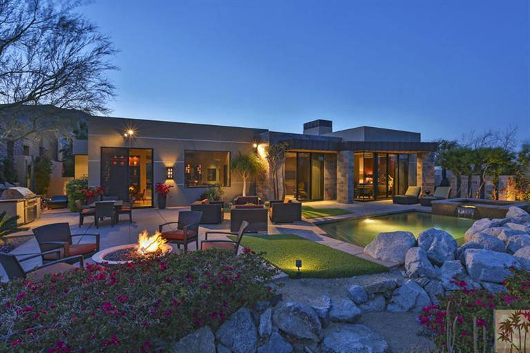 Fancy Bighorn Custom Home In Palm Desert California USA
