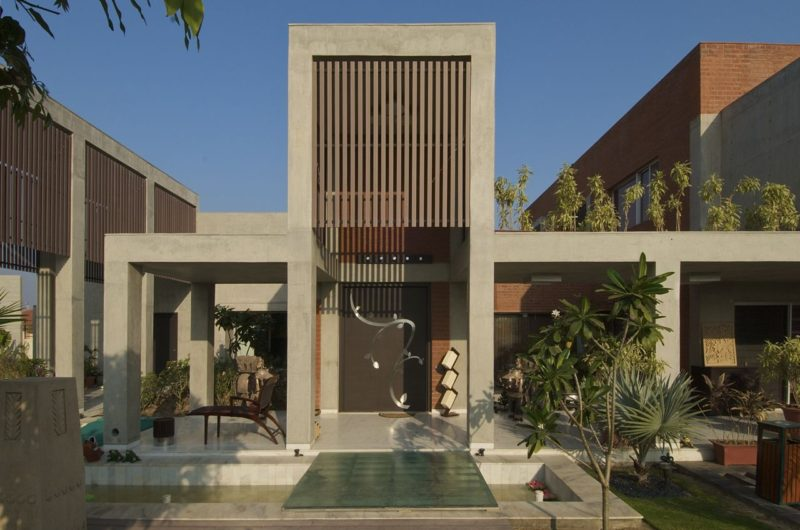 Beautiful Brick House By Hiren Patel Architects