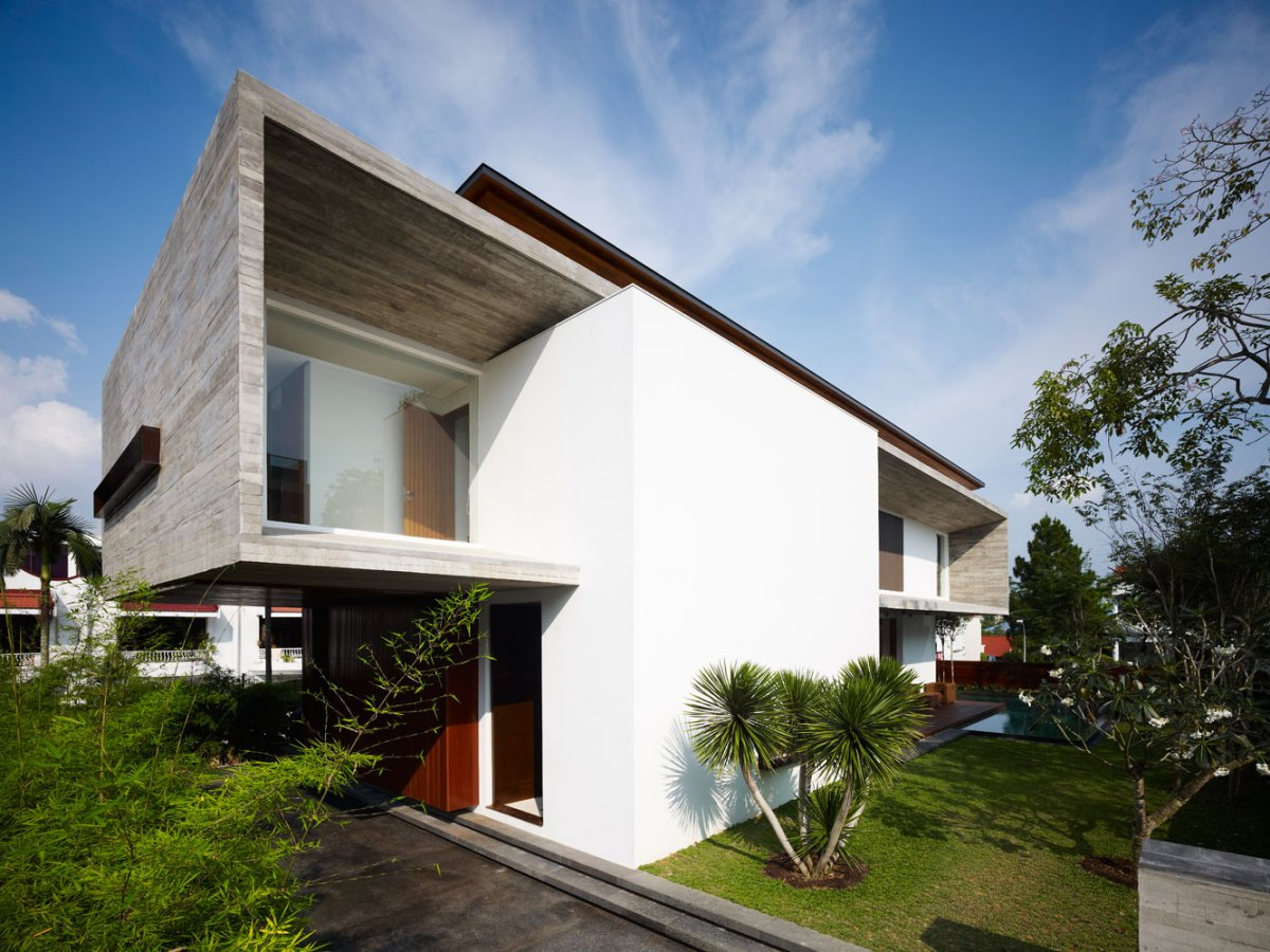 Contemporary M House by ONG&ONG 2