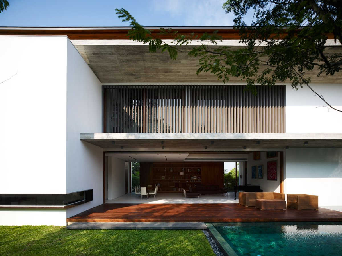 Contemporary M House by ONG&ONG 3