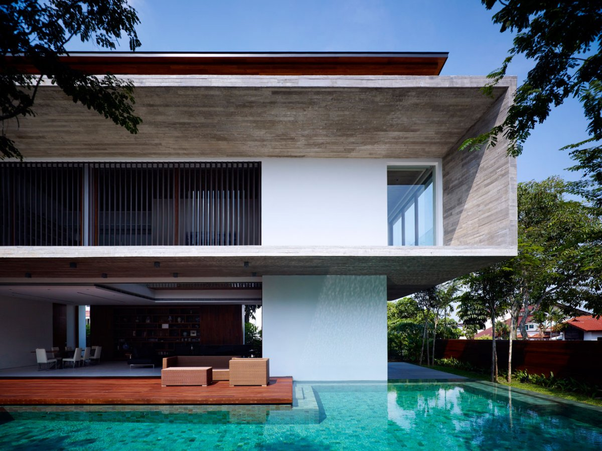 Contemporary M House by ONG&ONG 4