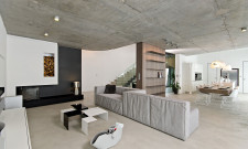 Modern Concrete Interior by ooox 1