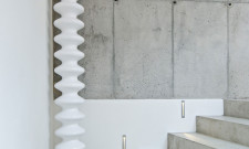 Modern Concrete Interior by ooox 7