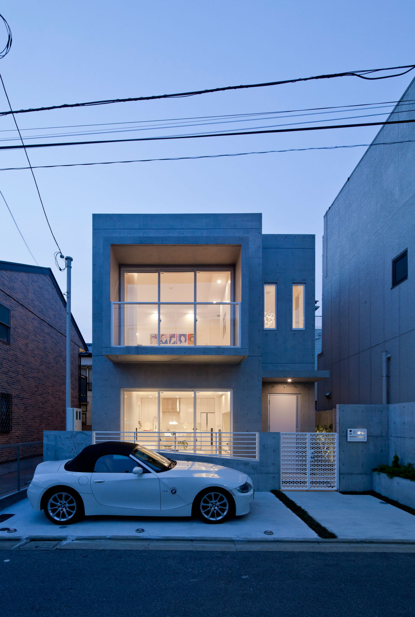 Modern zen design house in tokyo japan 28 for Modern concrete home designs