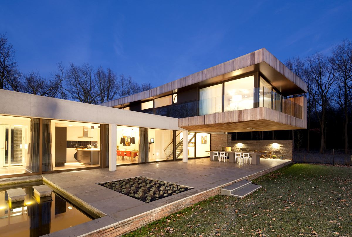 Modern villa in heesch the netherlands - Modern villa designs ...