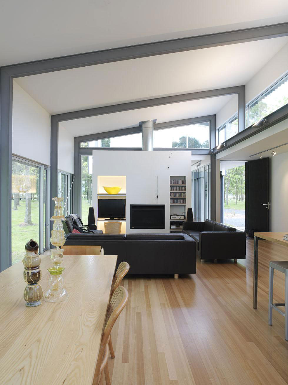 Contemporary Bark House In Hamilton New Zealand