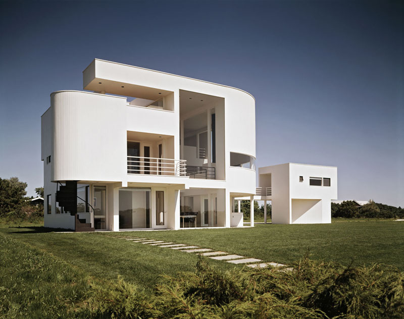 extraordinary saltzman house in east hampton new york - Richard Meier Homes