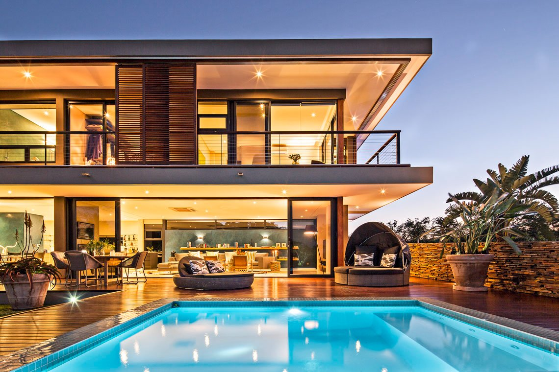 Modern luxury within the aloe ridge house in south africa 17 for My luxury home
