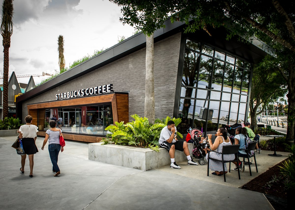 Starbucks opens up a flagship store in orlando florida