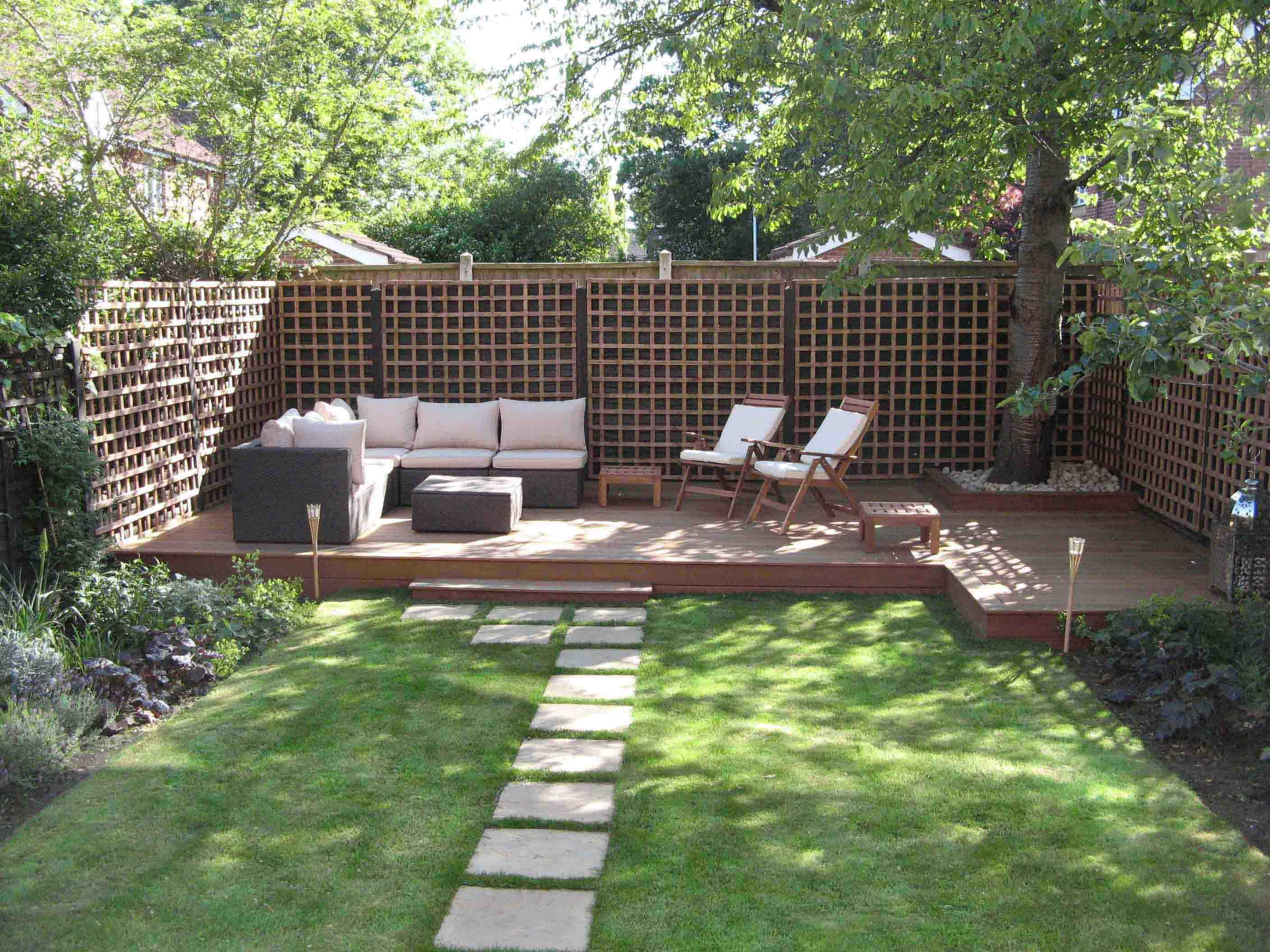 Modern garden design ideas 7 for Modern house design with garden