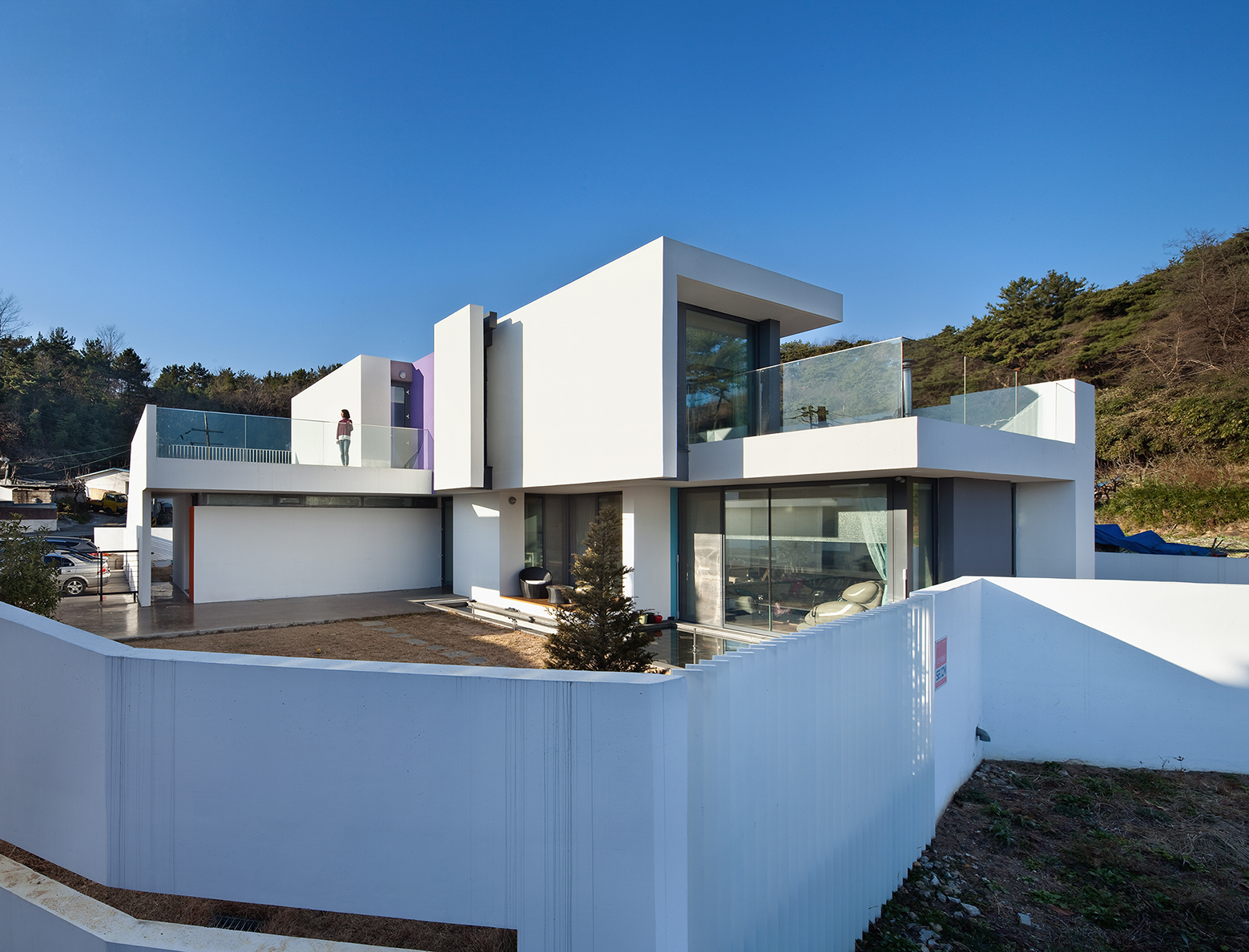 Gyeongsangnam-do South Korea  city pictures gallery : Modern Woljam ri House In Gyeongsangnam do, South Korea