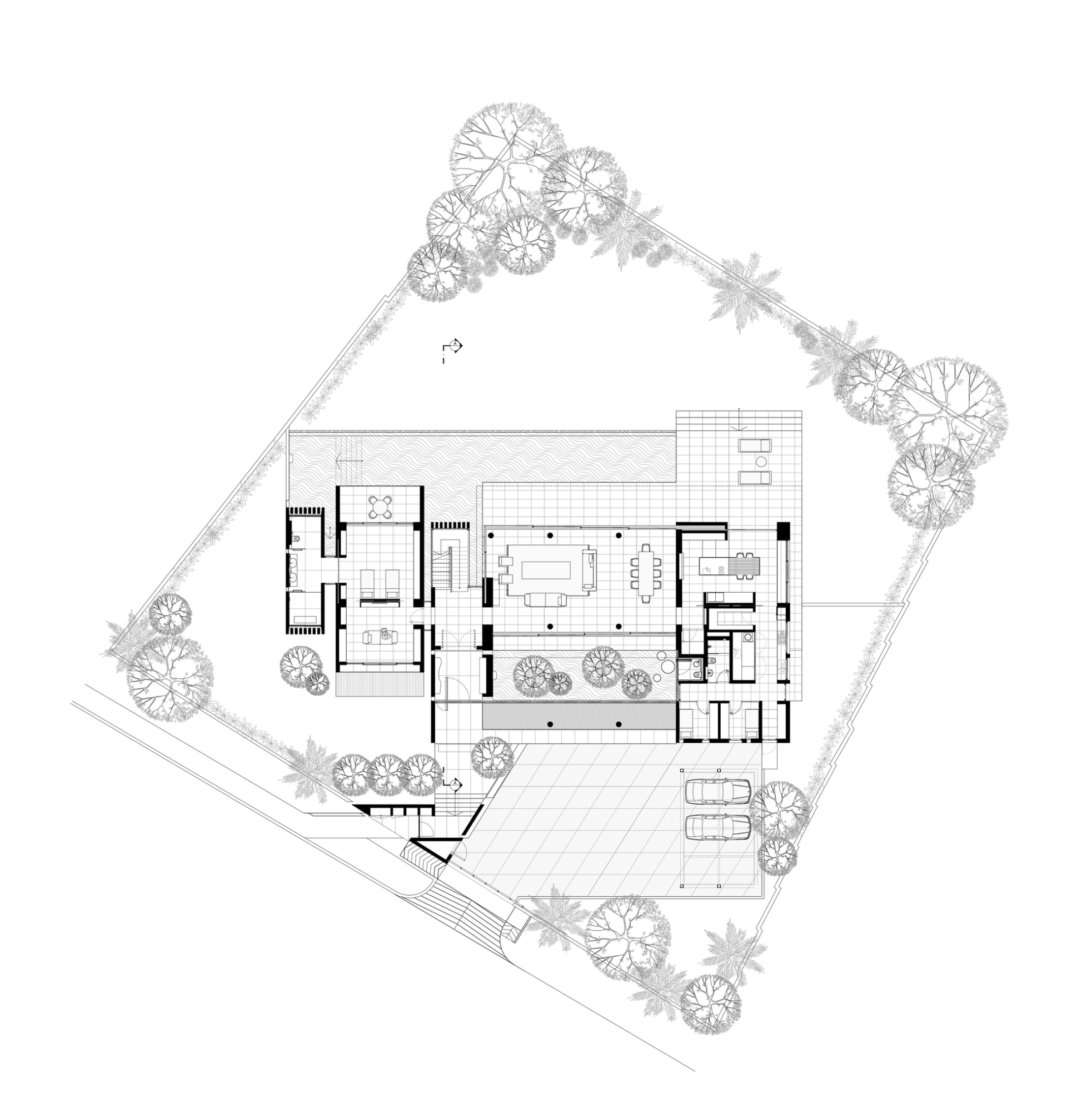 Dream house interior design drawing for My dream house drawing