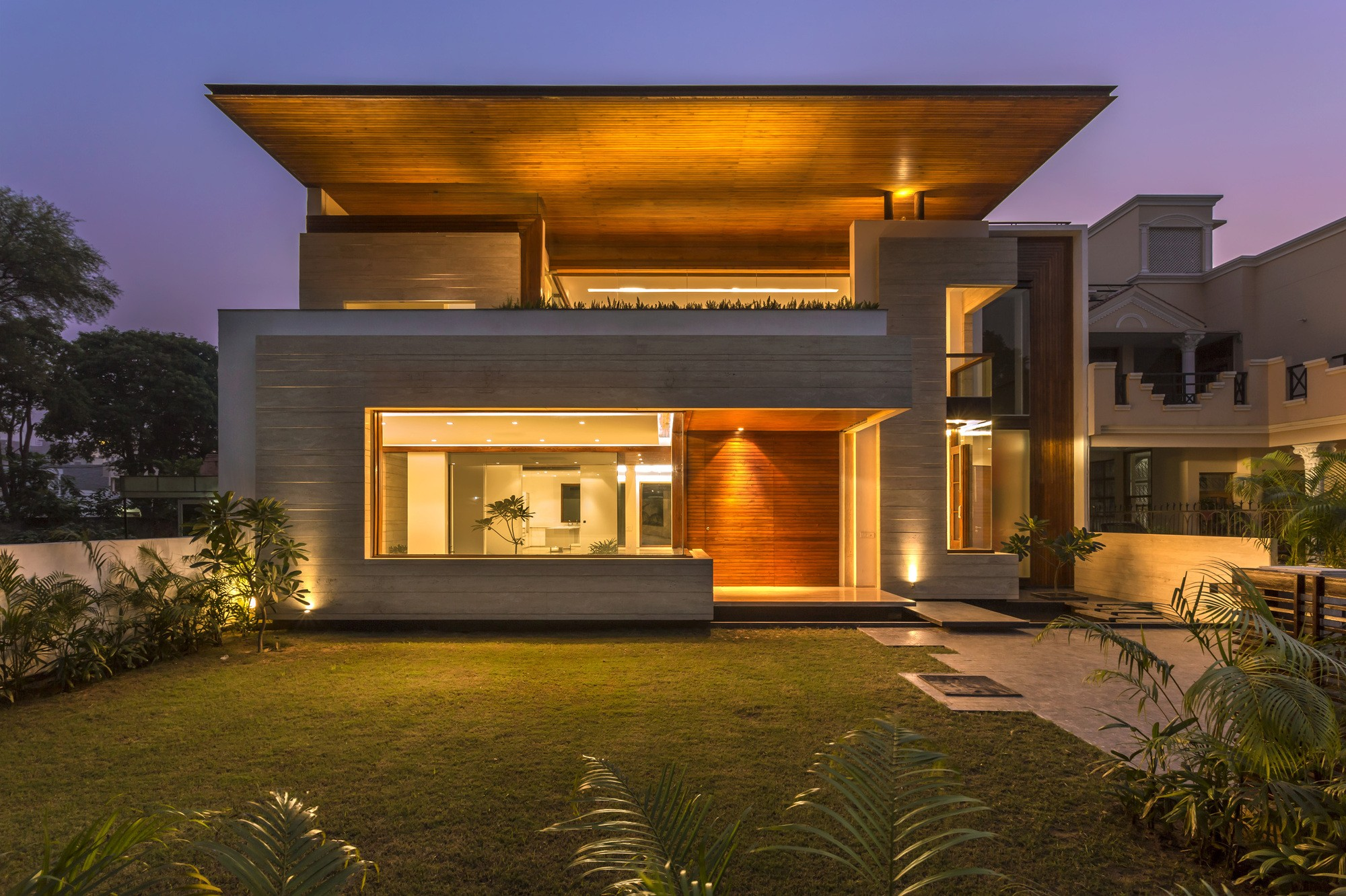 Superb house in mohali punjab india for Images of front view of beautiful modern houses