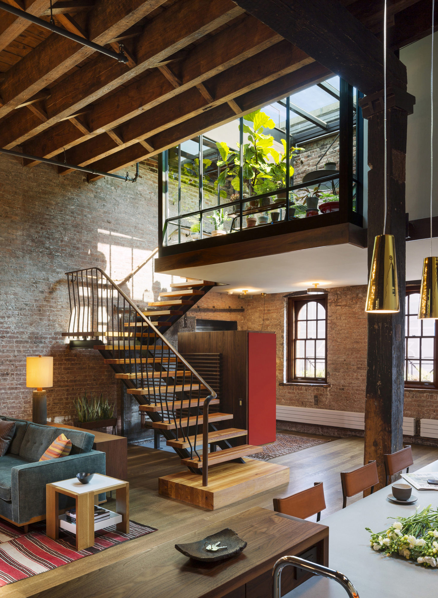 Tribeca loft in new york usa Modern house architect new york