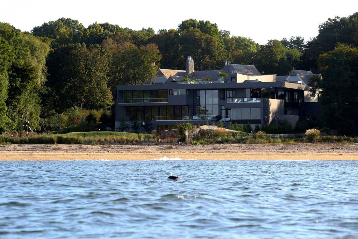 Sands point residence in long island new york Modern house architect new york
