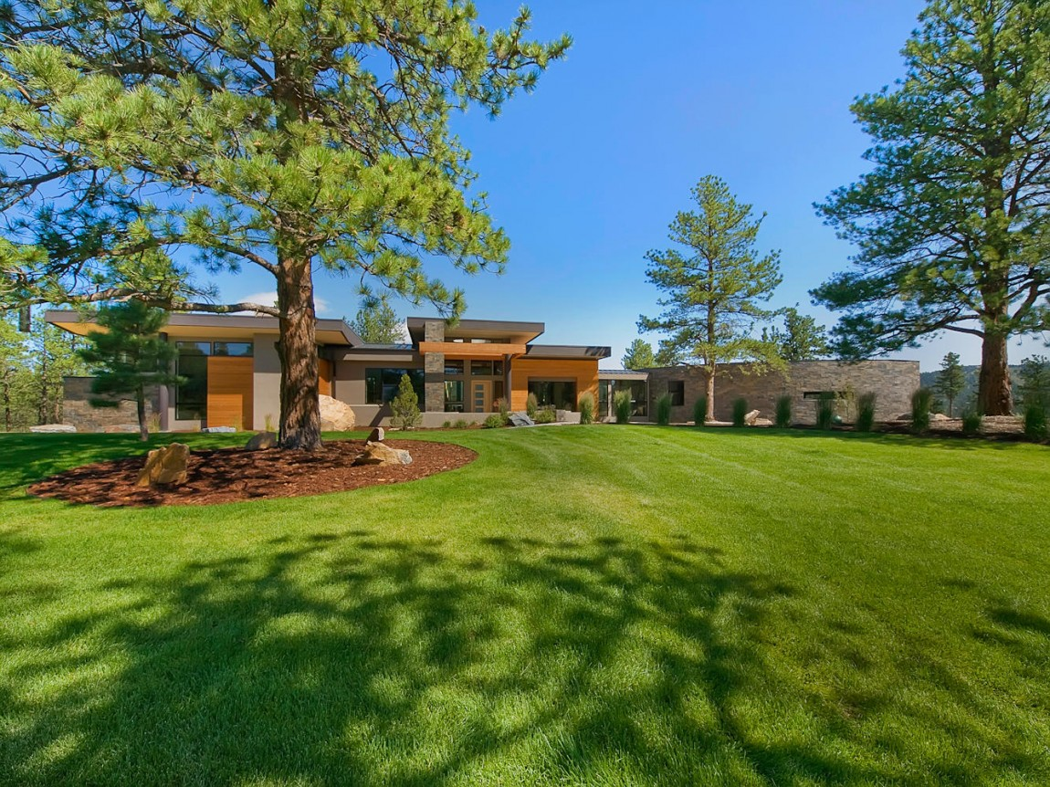 Meacham Residence in Evergreen, Colorado (47)