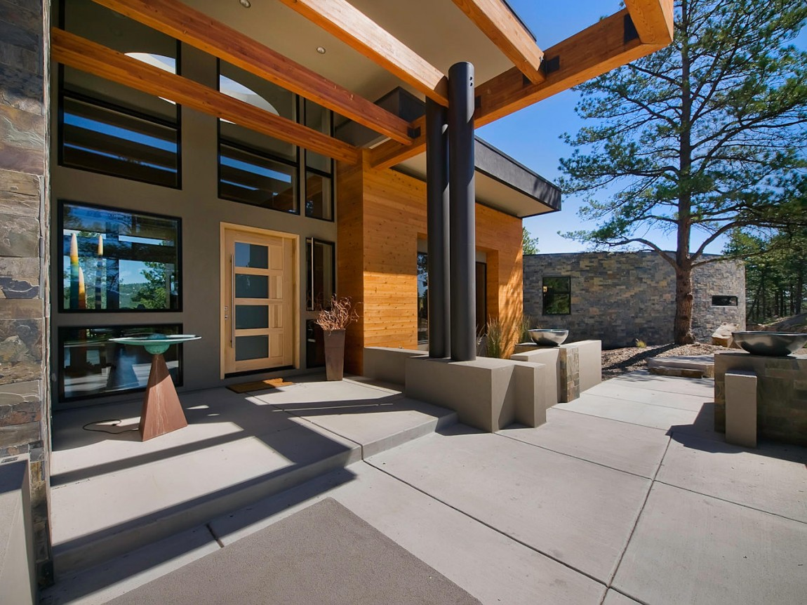 Meacham Residence in Evergreen, Colorado (33)