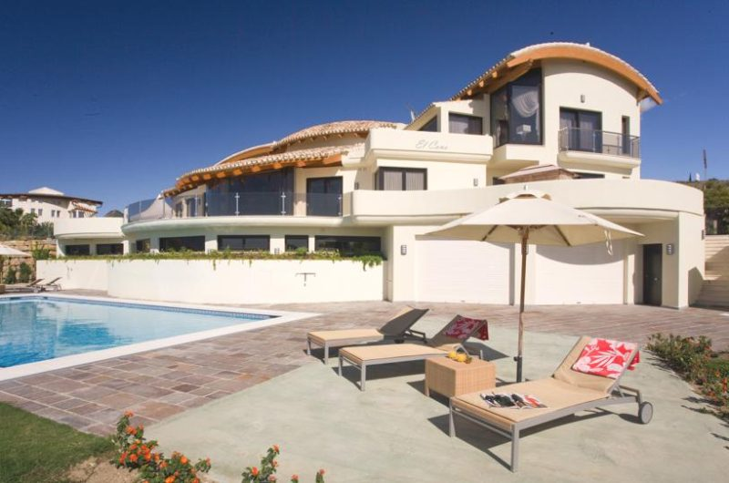 Villa El Cano from Marbella, Spain