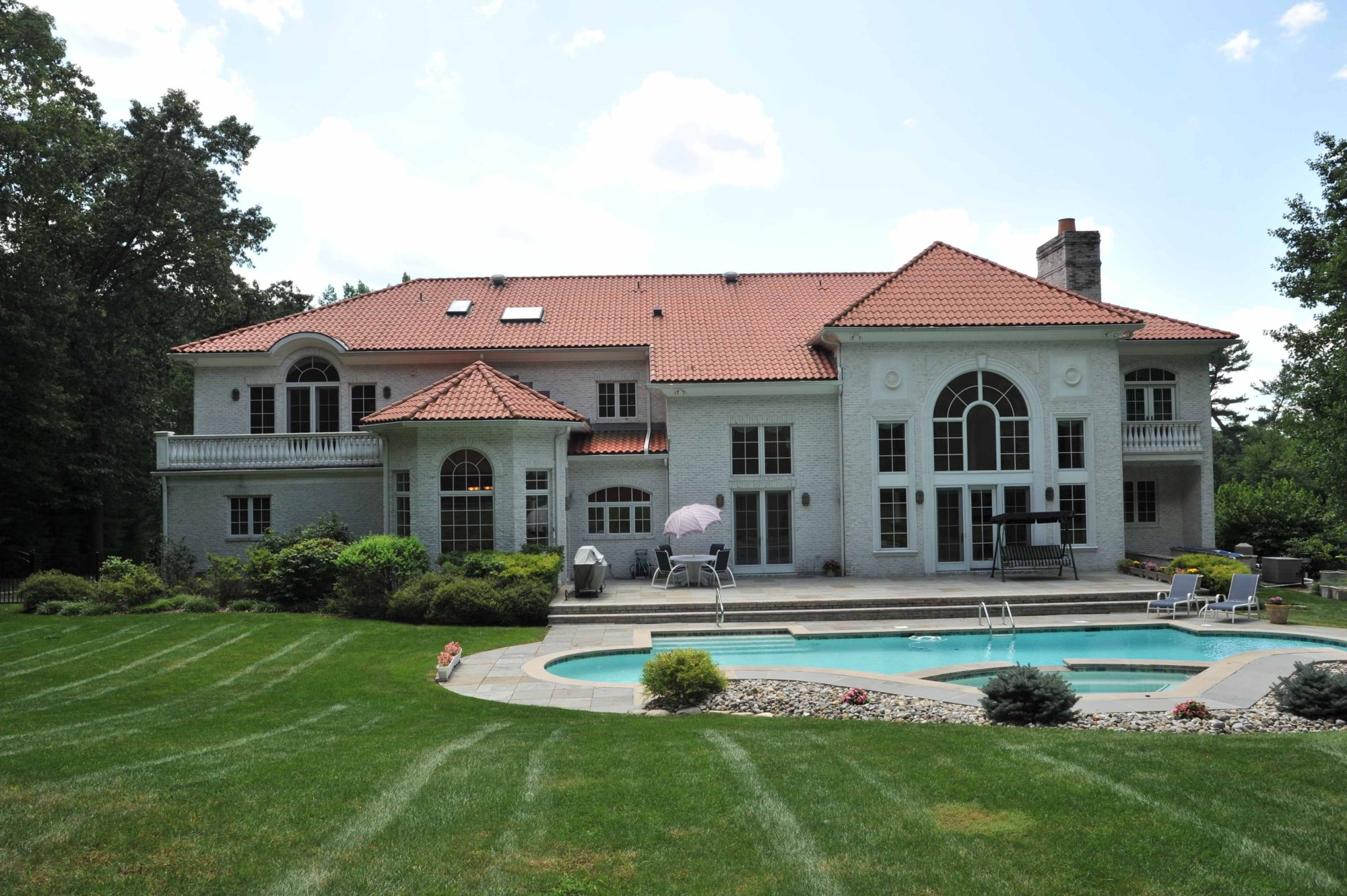 Beautiful mediterranean style villa in new jersey Nice houses in new jersey