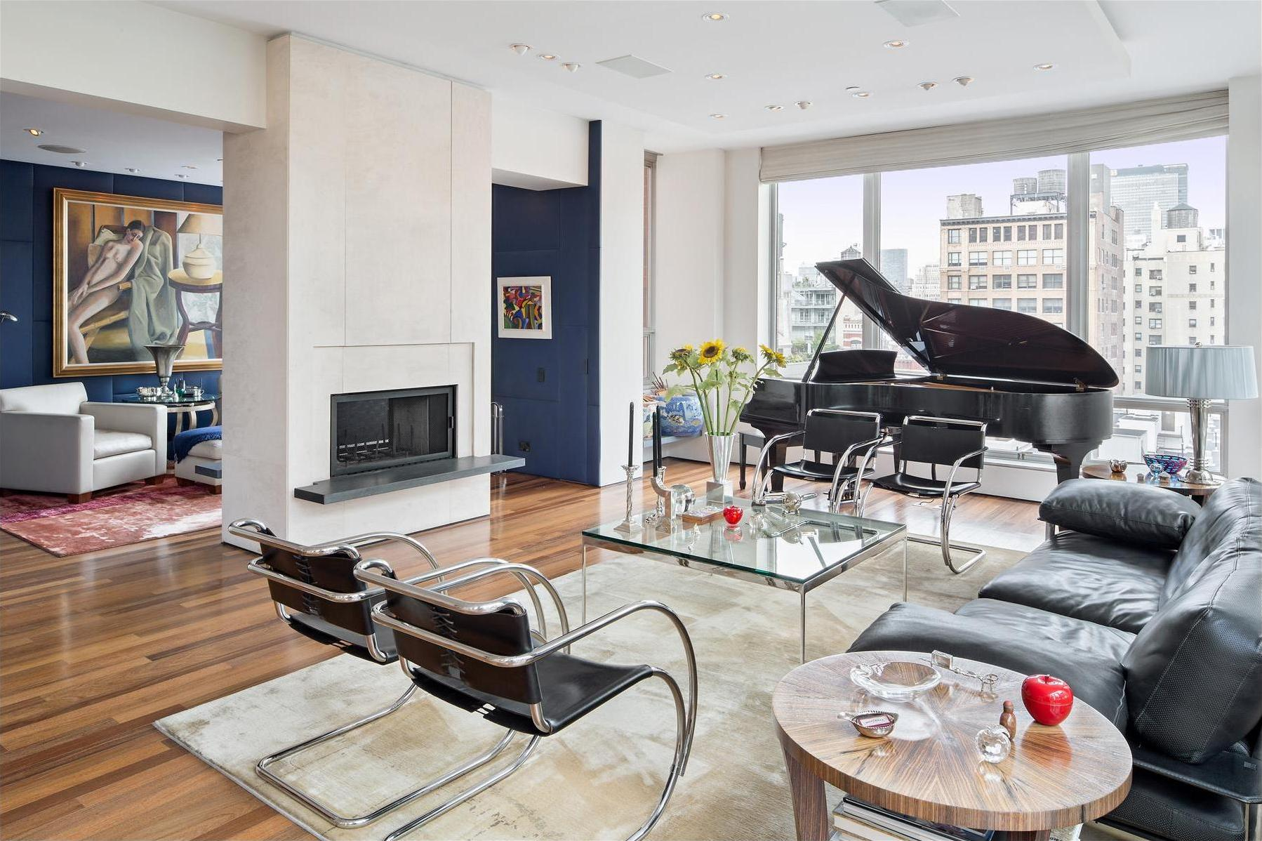 13 Stunning Apartments In New York: Gorgeous Duplex Penthouse In Chelsea, New York City