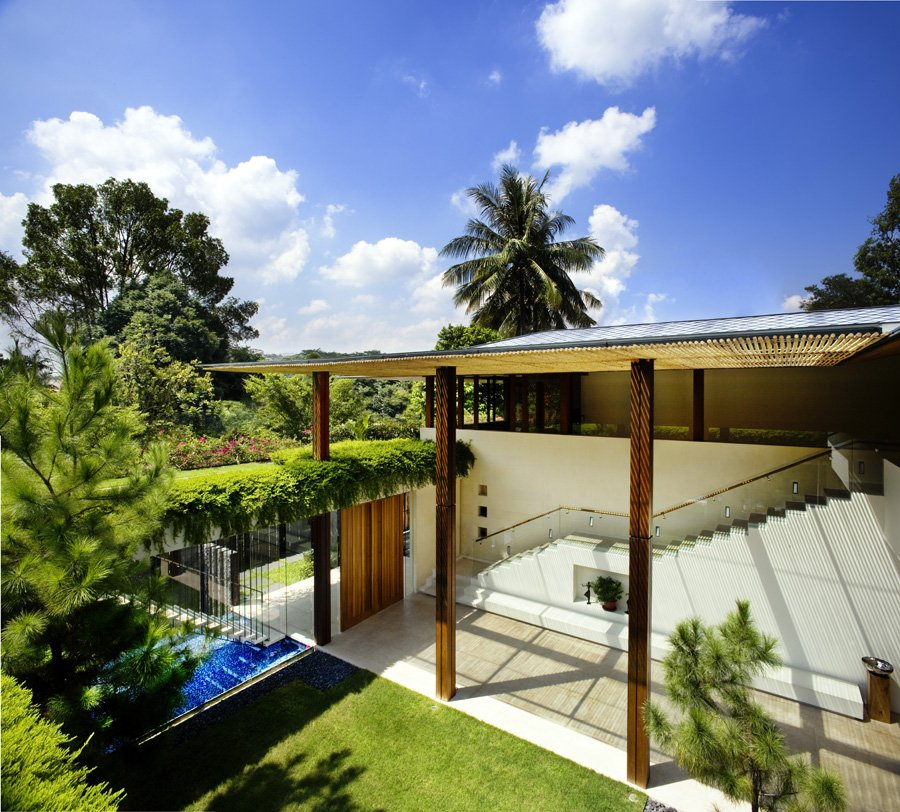 The single family tangga house by guz architects - La residence exotique fish house singapour ...