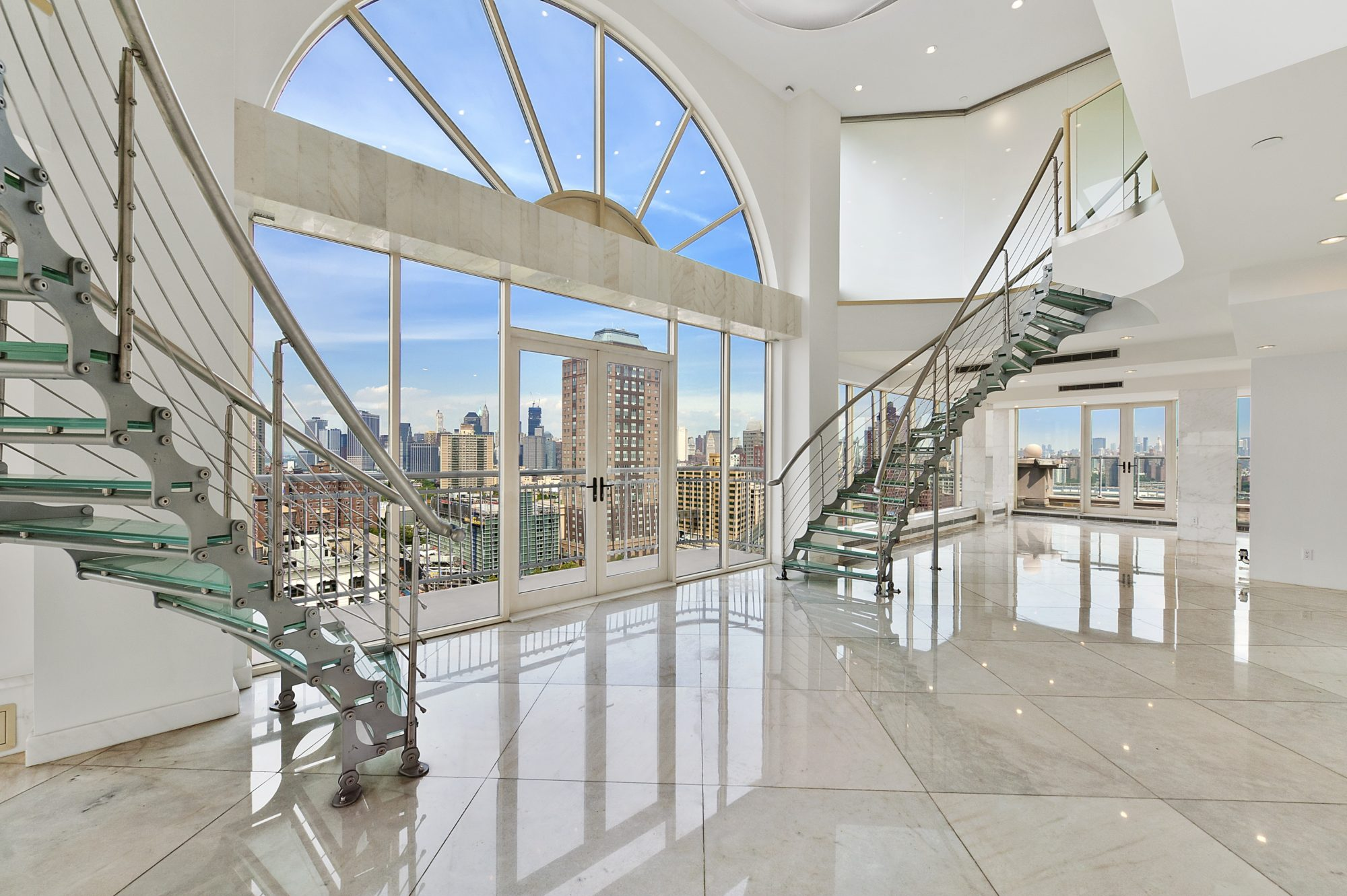 Home Saint Louis Foyer Unme : Magnificent duplex penthouse in brooklyn