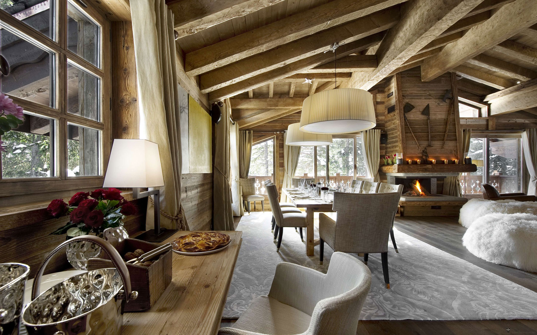 Cozy chalet les gentianes 1850 in the french alps 6 for Best small hotels in the world