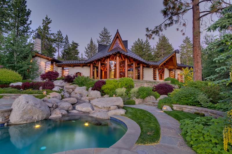Fabulous wovoka in nevada united states for Luxury lake tahoe homes for sale