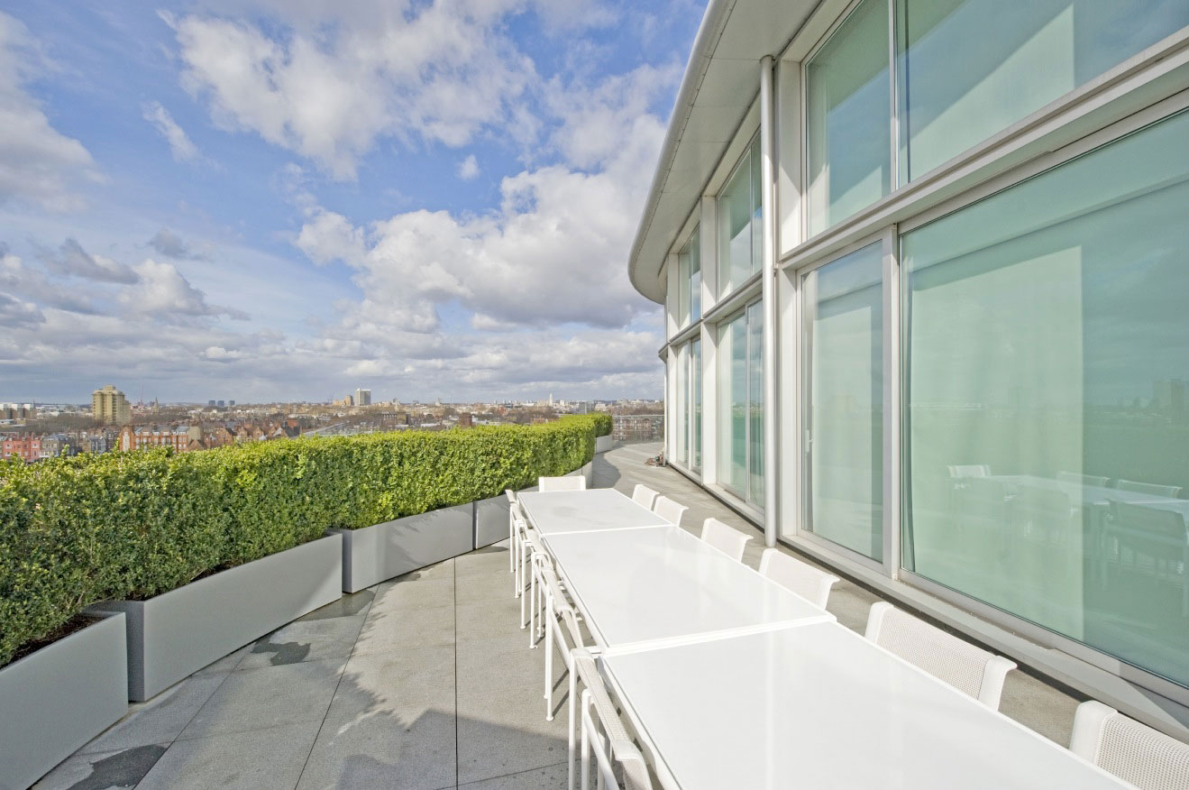 The ultimate luxury riverside penthouse by richard meier for 20 river terrace ny