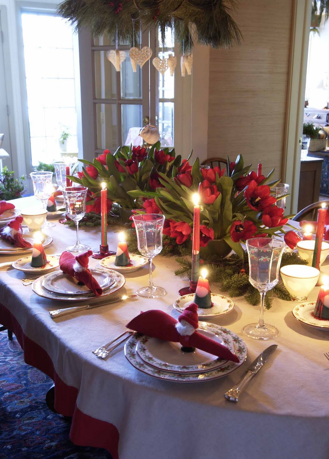 How to decorate your christmas table 2 How to decorate ur house