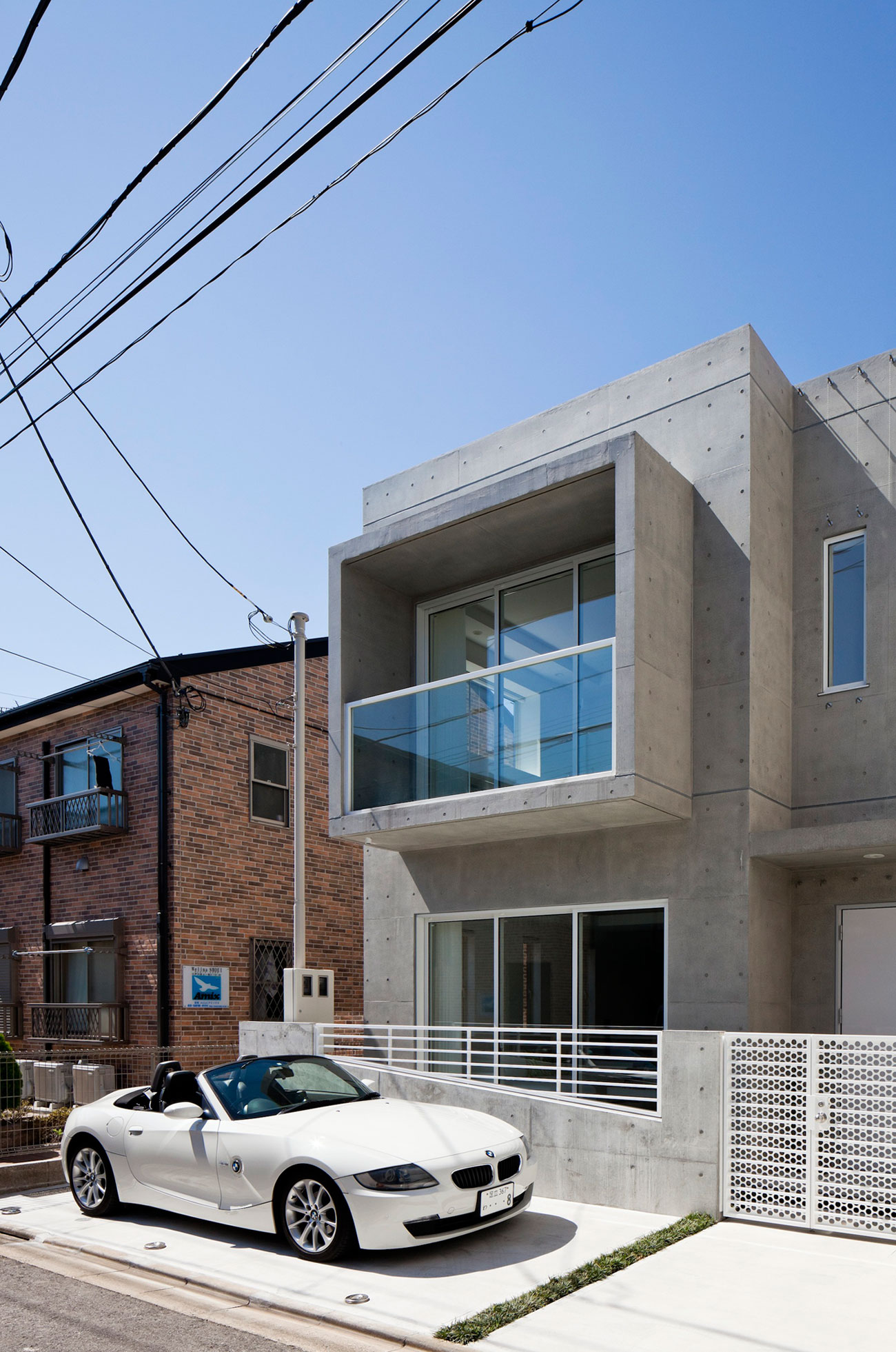 Modern zen design house in tokyo japan Architect modern zen type house