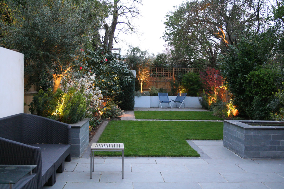 Modern garden design ideas 1 for Modern back garden designs