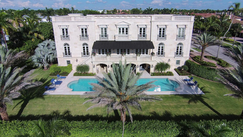Sumptuous French Colonial Estate In Naples Florida Usa
