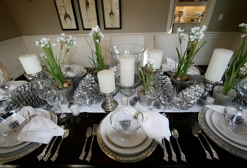 10 wonderful christmas table decorations 2