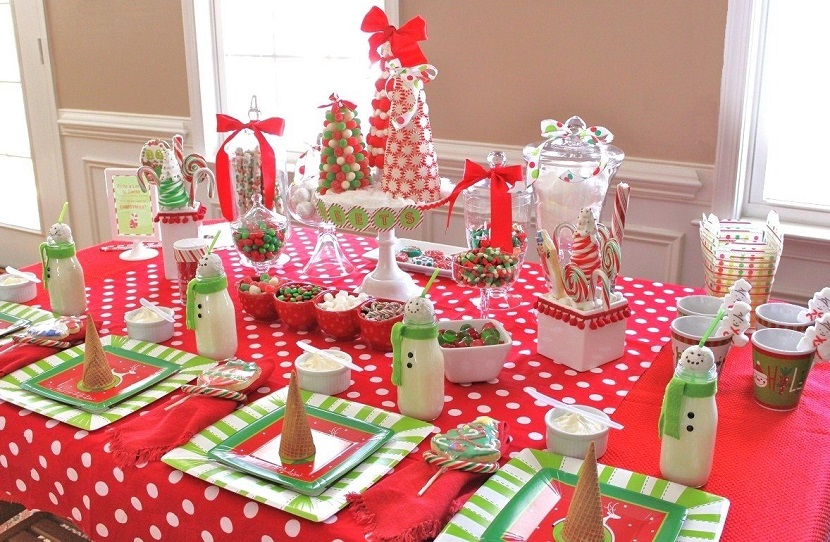 feel free to share your thoughts in the comments section below - Christmas Table Decorations
